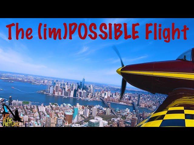 Experimental Pilot Visits Newark, La Guardia And JFK In One Flight
